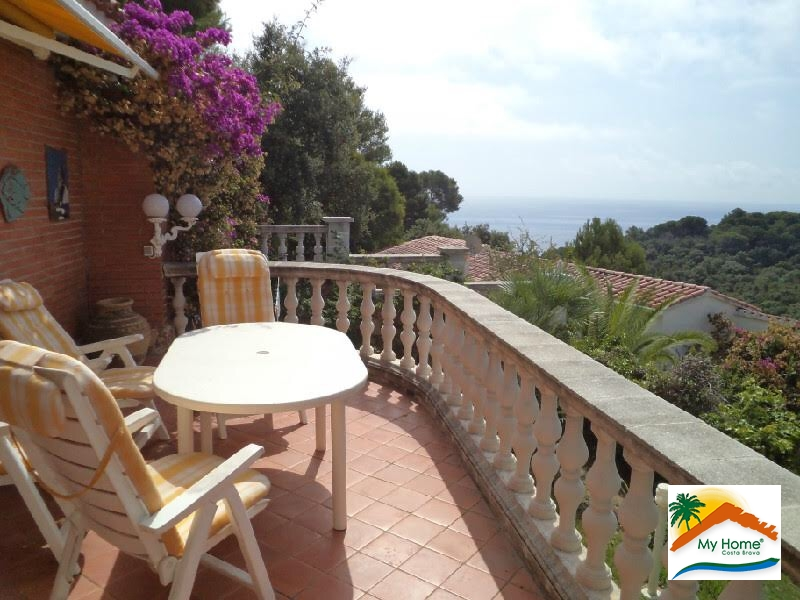 HOUSE WITH SWIMMING POOL AND SEA VIEW IN CALA CANYELLES
