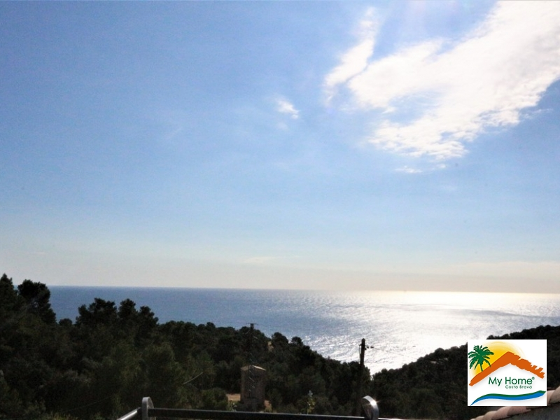 HOUSE WITH GARAGE AND SEA VIEW IN CALA CANYELLES
